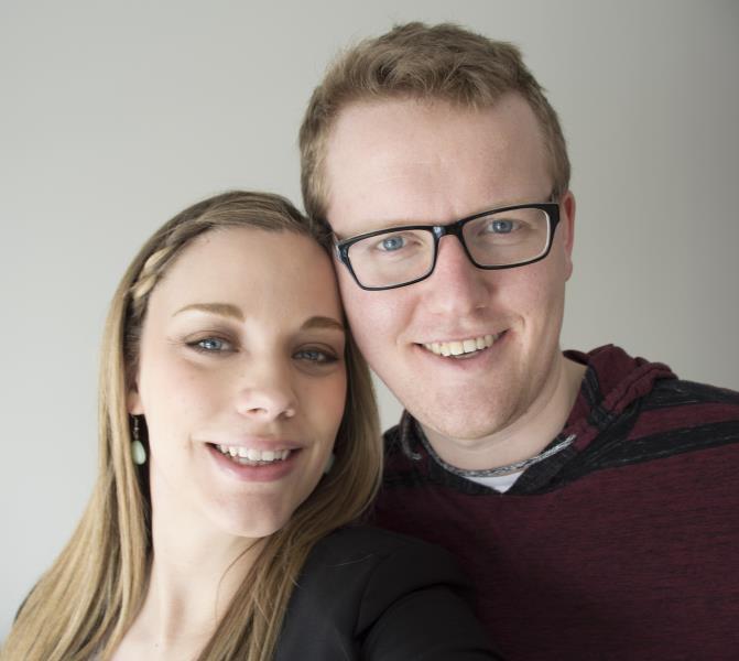 My wife ashley Nathan Zekveld